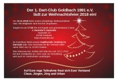 Einladung Weihnachtsfeier 2018